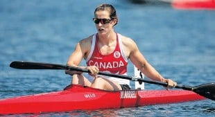 ??  ?? Fall River's Michelle Russell will race the K-1 200 metres, K-1 500 metres and K-4 500 metres for Canada at the Tokyo Olympics.