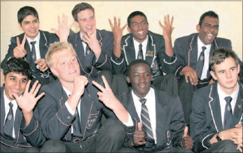 ?? Picture: ZANELE ZULU ?? Matriculants from Westville Girls' High School and Westville Boys' High School are in the throes of preparing for their final exams and have high hopes of achieving top marks.
