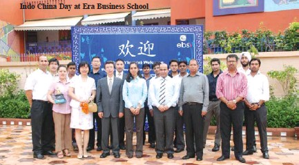 ??  ?? Indo China Day at Era Business School