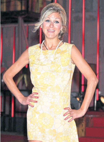 ??  ?? TRAGEDY: Nikki Grahame leaves the Ultimate Big Brother house at Elstree Studios in 2010, when she was runner-up. The reality TV star's lifelong battle with anorexia finally cost her her life on Friday.