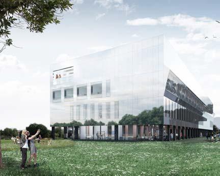 ?? FOTO PROOF OF THE SUM ?? Simulatiebeelden van het te bouwen onderzoekscentrum.