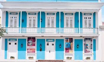 ??  ?? El Museo Casa Escuté está ubicado en uno de los primeros edificios construídos en el pueblo.