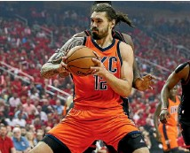 ?? PHOTO: USA TODAY ?? Steven Adams is one of the success stories going from New Zealand to play in America.