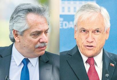 ??  ?? Fernández y Piñera firmarán una serie de acuerdos comerciales.