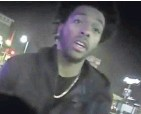 ?? ASSOCIATED PRESS ?? Police camera footage released by the Milwaukee Police Department shows NBA Bucks guard Sterling Brown as he talks to police.