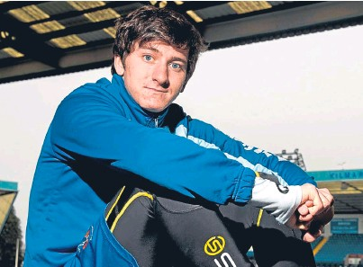 ?? Picture: SNS. ?? Chris Johnston: delighted to be making a fresh start after recovering from injury.