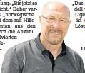 ?? FOTO: ANDRÉ KEMPNER ?? Lok-trauner und Sportdirektor Wolfgang Wolf.