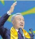 ?? Foto: dpa ?? Der kasachische Diktator Nursultan Nasarbajew.