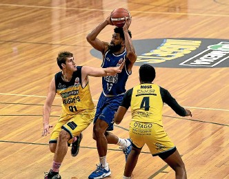 ?? GETTY IMAGES ?? Dion Prewster has been in brilliant form for the Saints during their twin victories in round one of the NBL.