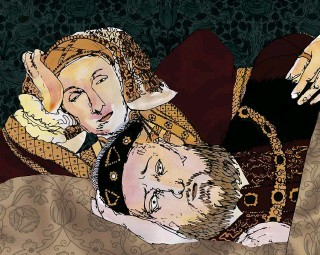 ??  ?? Henry was less than impressed with his new bride (as shown in our illustration) and the marriage ended within four months without ever being consummated