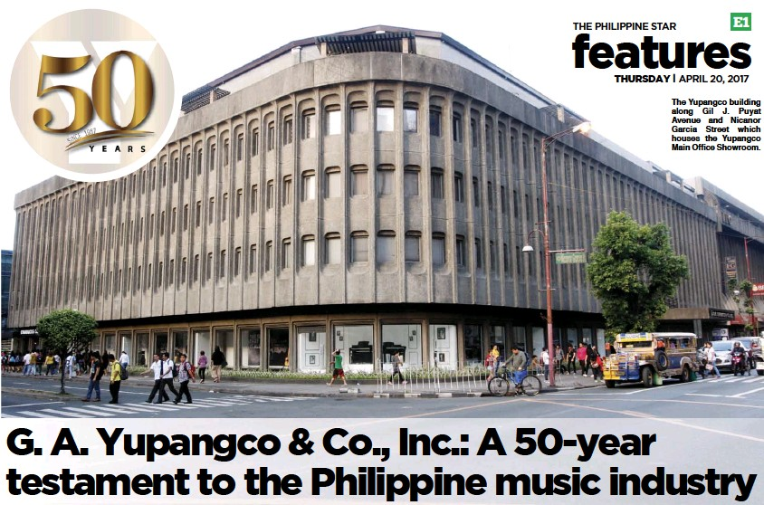 ??  ?? The Yupangco building along Gil J. Puyat Avenue and Nicanor Garcia Street which houses the Yupangco Main Office Showroom.