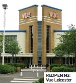 ??  ?? REOPENING: Vue Leicester