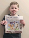??  ?? Last week's QC colouring contest winner was Caleb Debruyne. Congratulations! Thanks to all for your colourful submissions. Try again this week!