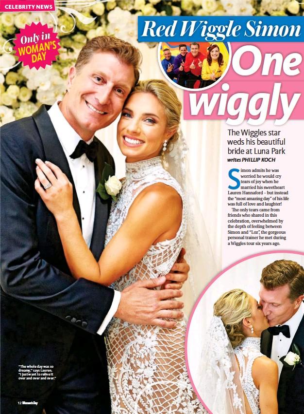 Wiggle wedding emma Emma Watkins