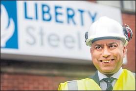 ??  ?? Liberty Steel magnate Sanjeev Gupta