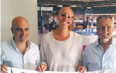 ??  ?? Roberto Recordare, della Golem, ha anche sponsorizzato squadre di volley
