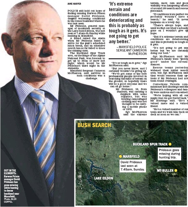 Pressreader Geelong Advertiser 2011 06 08 Hunt For Missing Barwon Prison Boss