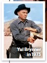 ??  ?? Yul Brynner in 1973