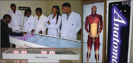 ??  ?? Anatomage Medical Equipment at Edo University, Iyamho, Edo State