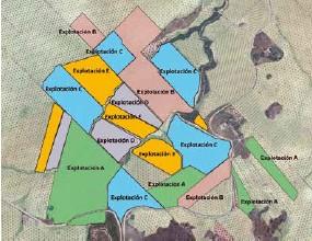 ??  ?? Cooperación para la gestión de 19 parcelas de 5 explotaciones.