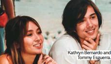 ??  ?? Kathryn Bernardo and Tommy Esguerra.