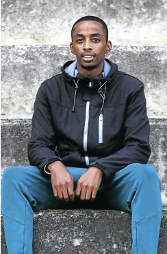 ?? Pictures: Thapelo Morebudi and Gallo Images ?? Cheswill Johnson, the new kid on the block.