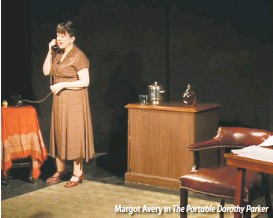 ??  ?? Margot Avery in The Portable Dorothy Parker