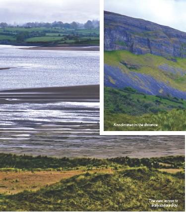 ??  ?? The view across to Ballysadare Bay.