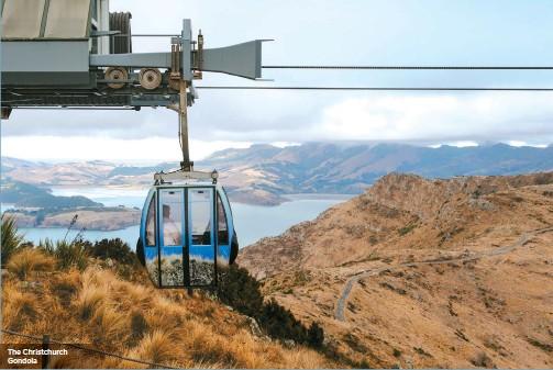 ??  ?? The Christchurch Gondola