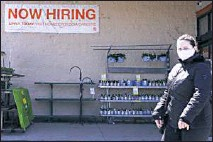 ?? AP PHOTO/NAM Y. HUH ?? A hiring sign is seen outside home improvement store in Mount Prospect, Ill., Friday, April 2, 2021. The pace of job openings reached the highest level on record in February, a harbinger of healthy hiring and a hopeful sign for those looking for work.