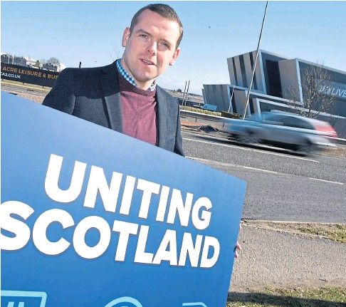 ??  ?? MANIFESTO: Scottish Conservative leader Douglas Ross is poised to reveal his party's plans.