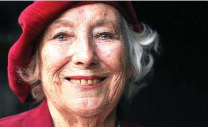 ?? Photo AFP ?? Vera Lynn a soutenu, durant toute la guerre, le moral des troupes avec ses ballades riantes et patriotiques.