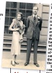 ??  ?? Adeledl Astairei and Lord Charles Cavendish on their wedding day in 1932