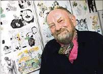 ??  ?? ARTISTA. Kurt Westergaard, autor de la caricatura de Mahoma.