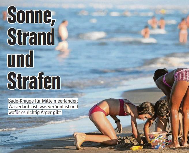 Am kinder strand erlaubt nackt BILD Logo