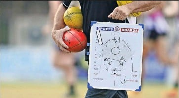 ??  ?? Sports boost: Clubs can apply for the second round of Sport Australia's Participation Grant program.