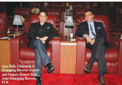 ??  ?? Ajay Bijli, Chairman & Managing Director (right) and Sanjeev Kumar Bijli, Joint Managing Director, PVR