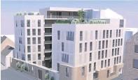 ??  ?? Development 34 flats are set for Ayr's Carrick Street