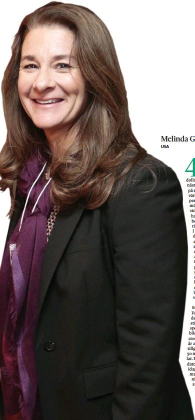 ?? Bild: Sveits Davos ?? Melinda Gates