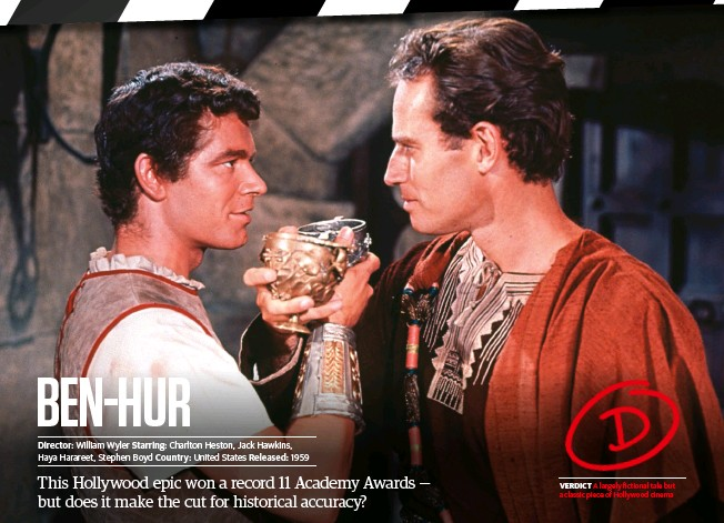 ??  ?? Verdict A largely fictional tale but a classic piece of Hollywood cinema