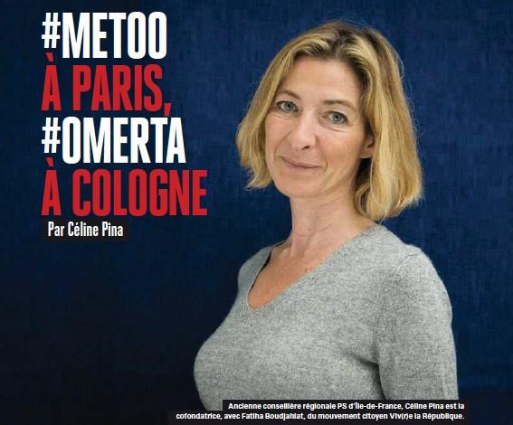 ??  ?? Ancienne conseillère régionale PS d'île-de-france, Céline Pina est la cofondatrice, avec Fatiha Boudjahlat, du mouvement citoyen Viv(r)e la République.