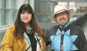 ?? National Content Solutions photo ?? Chief Dr. Ronald Ignace and Dr. Marianne Ignace.