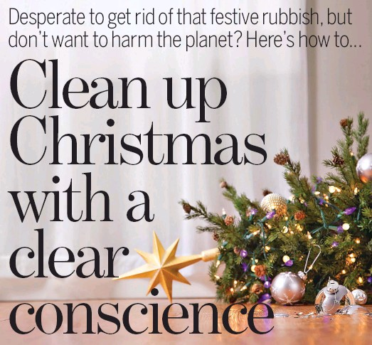 Pressreader Daily Mail 2018 12 27 Clean Up Christmas With A