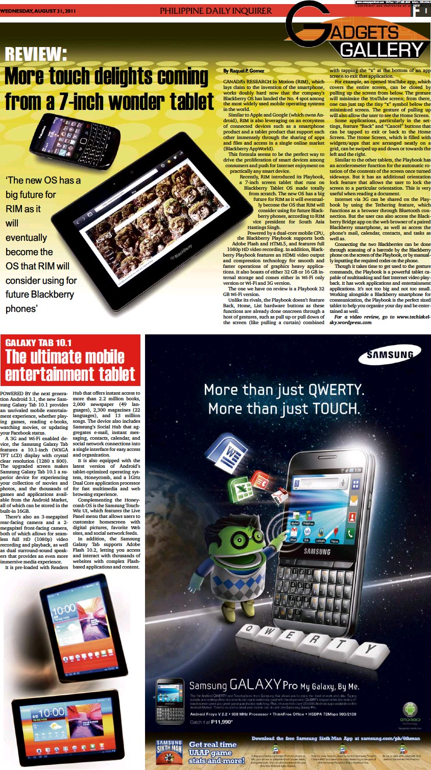 PressReader - Philippine Daily Inquirer: 2011-08-31 - The ultimate
