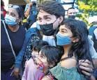 ??  ?? ▲ Justin Trudeau campaigning in Port Coquitlam, British Columbia