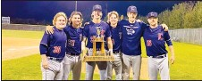 ?? Alberta Newspaper Group's contributed photo ?? Vauxhall's baseball academy had a big influence in the Western Canada Baseball Association championship as the Lethbridge Bulls earned top spot with the help of six Vauxhall alumni.