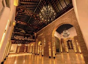 ??  ?? Casa Santos de Piedra es un espacio perfecto para atender eventos sociales, corporativos y congresos, con cuatro espacios que brindan una capacidad en acomodación tipo cena entre 230 a 310 personas y en tipo coctel de unas 450 personas.