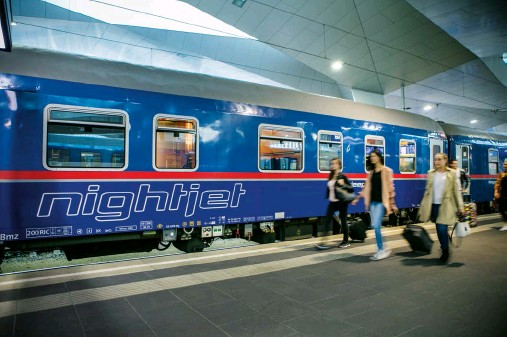 ??  ?? Back in demand: many new routes for night trains