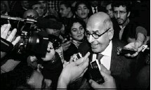 """?? Peter Macdiarmid, Getty Images ?? """"I wish we did not have to go out on the streets to press the regime to act,"""" says Mohamed ElBaradei, who plans to join protests today."""