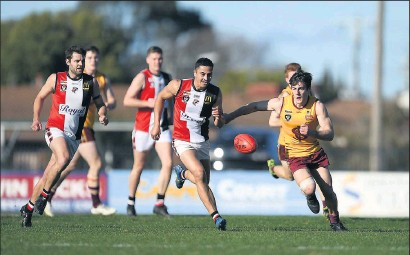 ??  ?? Planning for future: Goulburn Valley League clubs, including the Benalla Saints, have been set a new salary cap for the 2021 season. Picture: Karl Phillipson